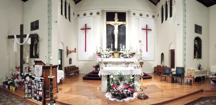 st brigid catholic church hanford ca altar decoration by season